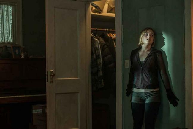 Szenenbild aus Don't Breathe mit Jane Levy