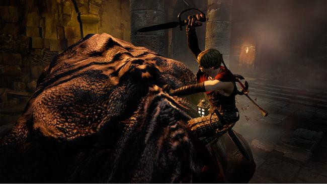 Dragon's Dogma: Dark Arisen Fight