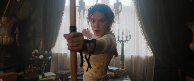 Millie Bobby Brown als Enola Holmes