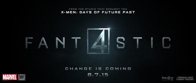 Fantastic Four 2015 Banner
