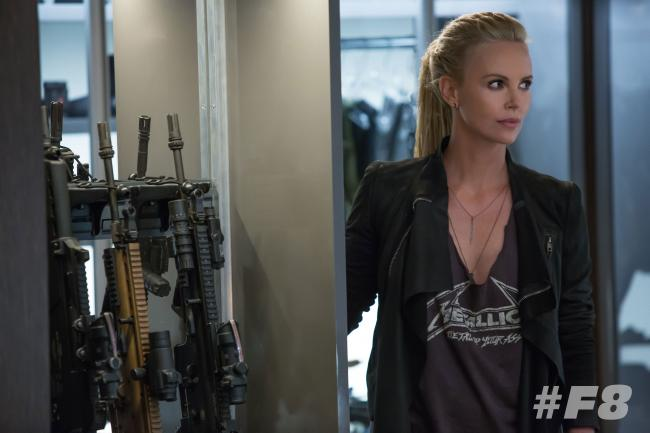 Charlize Theron in Fast & Furious 8 - The Fate of the Furious