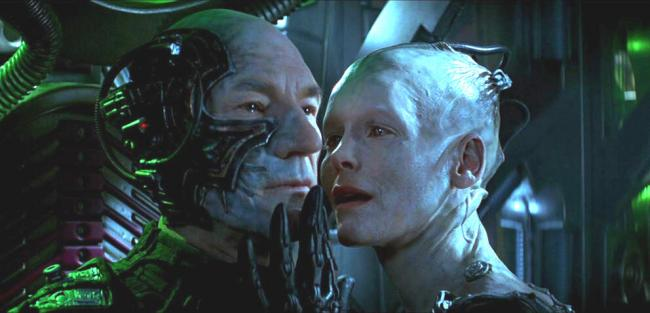 Star Trek Borg Picard