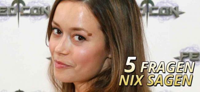 5 Fragen nix sagen mit Summer Glau aus Firefly