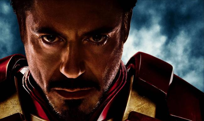 Robert Downey jr. ist Iron Man