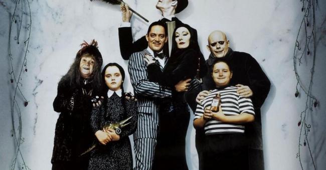 Das Filmposter zu Die Addams Family (1991)