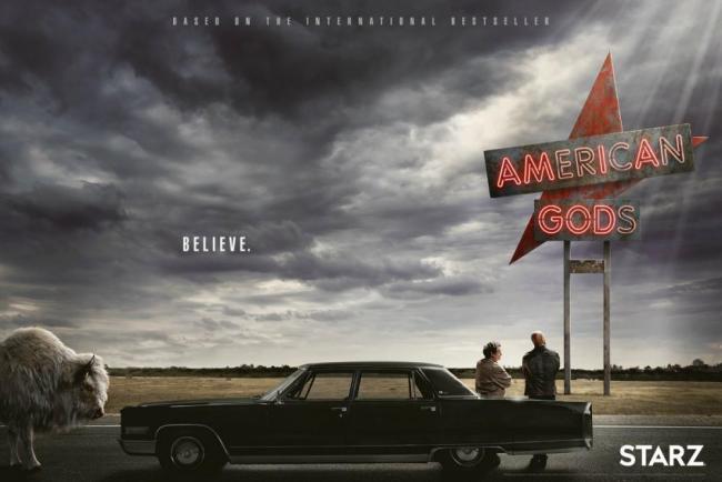 Poster zu American Gods bei Starz