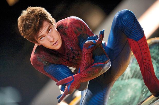 Andrew Garfield als Spider-Man