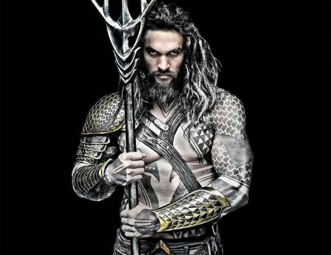Jason Momoa ist Aquaman