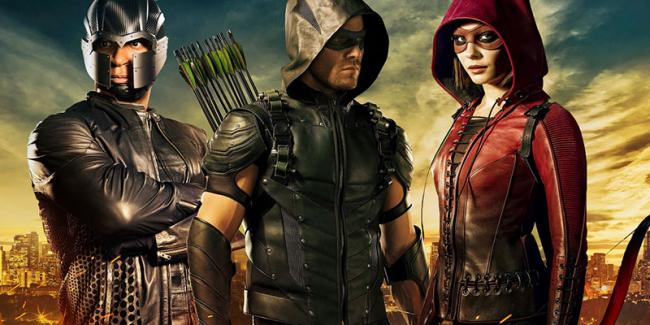 arrow staffel 5 auf netflix
