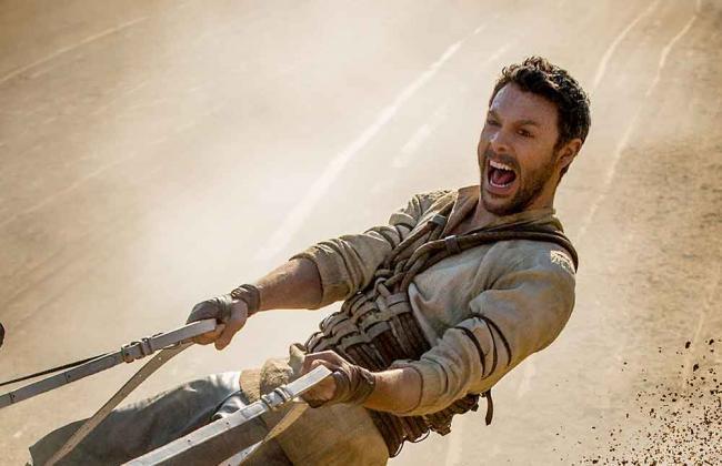 Ben-Hur im Streitwagen