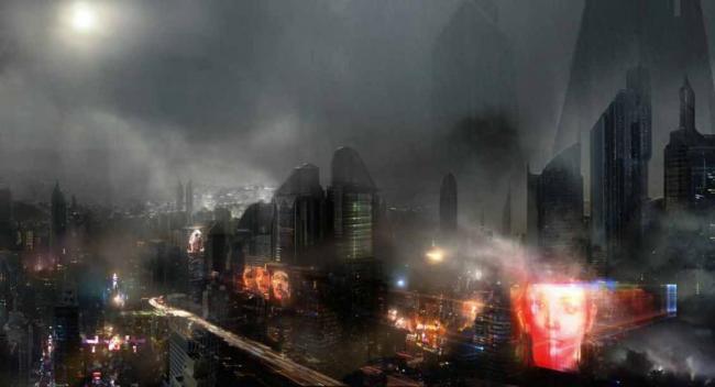 Concept Art zu Blade Runner 2049