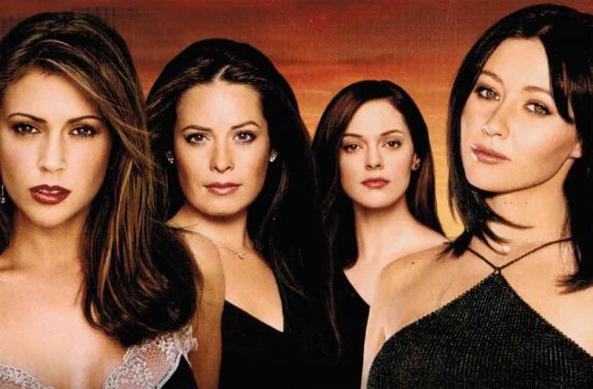Charmed DVD-Cover Season 1-4
