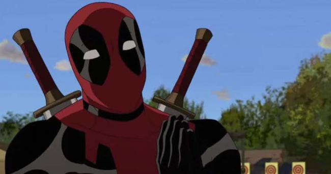 Deadpool in der animierten Serie Der ultimative Spiderman