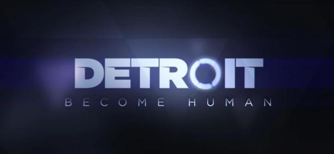 Detroit: Becoming Human Logo Trailer Still