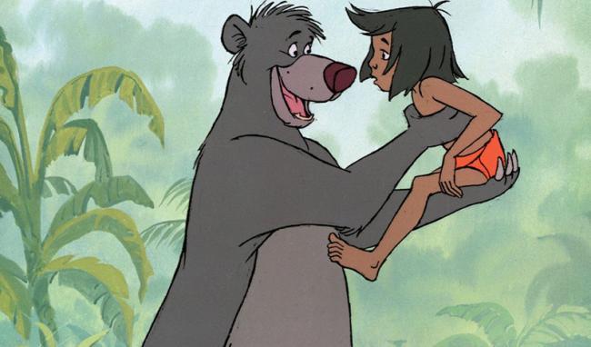 """Balu und Mogli im Zeichentrick-Klassiker """"Das Dschungelbuch"""""""