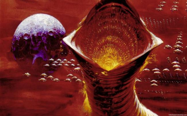 Dune - Der Wüstenplanet 1984 Poster