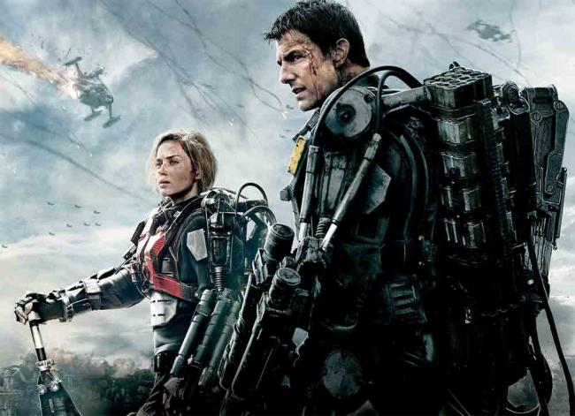 Edge of Tomorrow Poster mit Tom Cruise & Emily Blunt