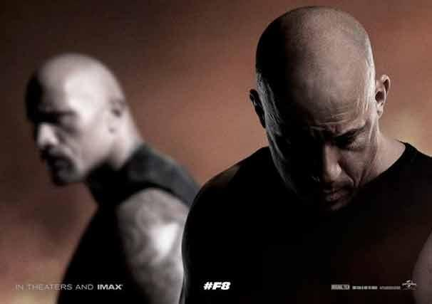 Teaser-Poster zu Fast & Furious 8