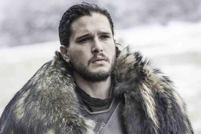 Jon Snow in Game of Thrones