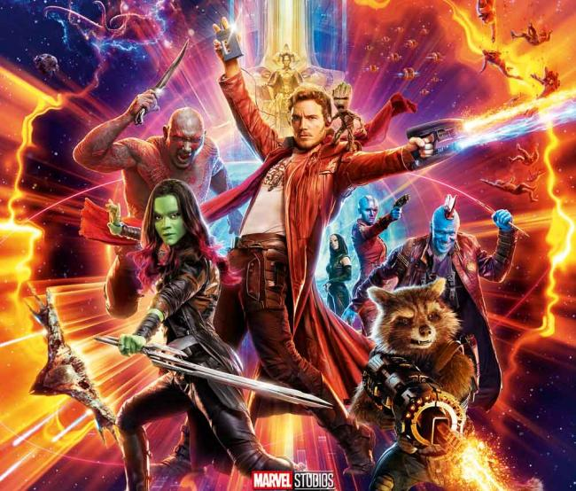 Guardians of the Galaxy Vol. 2 Hauptposter
