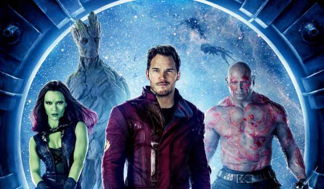 Guardians of the Galaxy Filmposter Korea