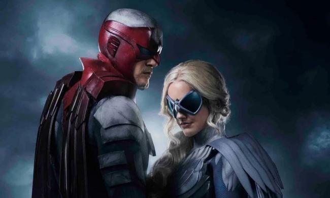 Hawk and Dove Titans
