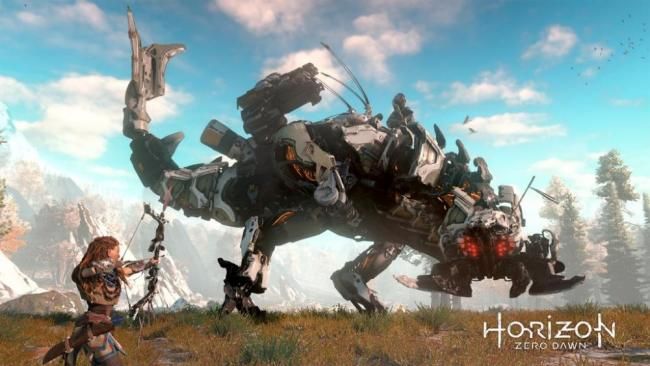 Horizon Zero Dawn Promo Screen