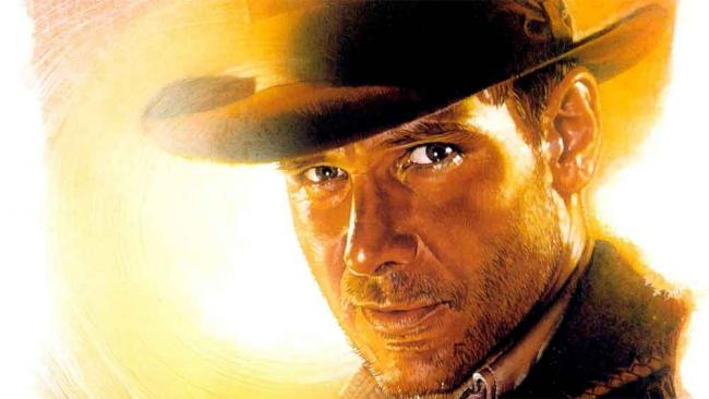 Harrison Ford ist Indiana Jones (Postermotiv)