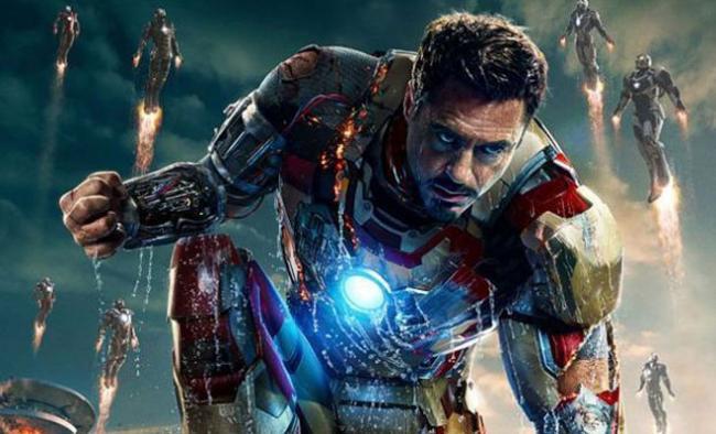 Iron Man 3 Poster - Robert Downey jr.