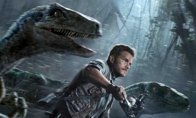 Chris Pratt und die Velociraptoren - Jurassic World