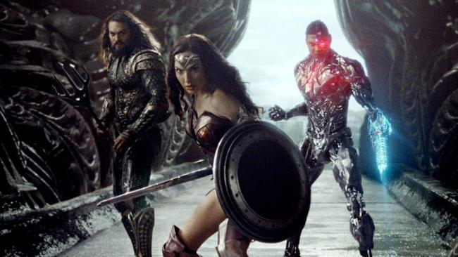 Szenenbild aus Justice League: Aquaman, Wonder Woman & Cyborg