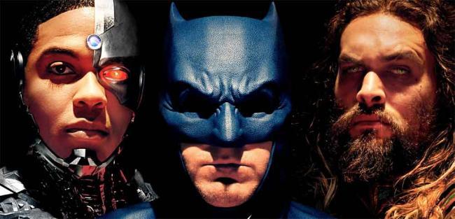 Poster zu Justice League: Cyborg, Batman, Aquaman