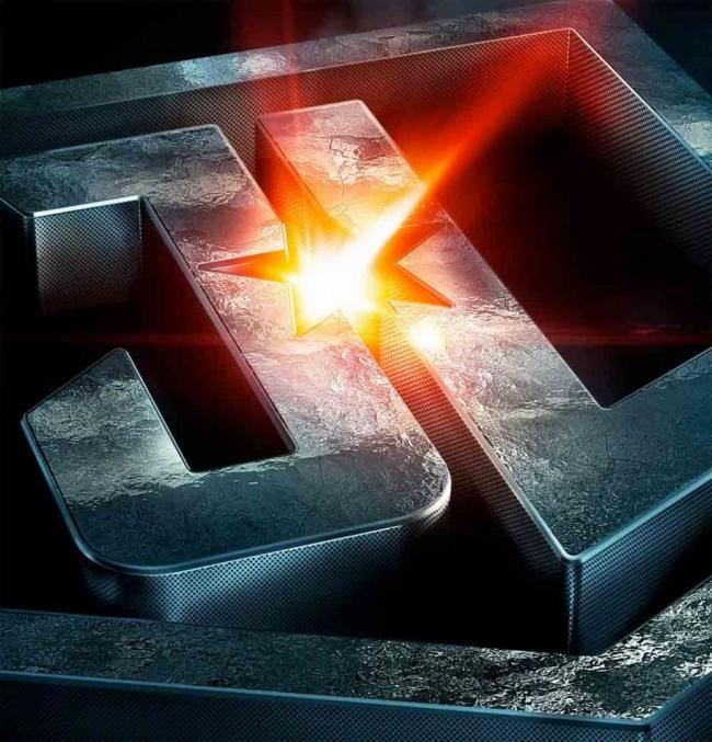 Justice League Logo-Poster