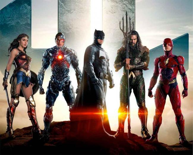 Teamposter zu Justice League