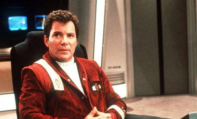 William Shatner als Captain Kirk und Star Trek V: Am Rande des Universums