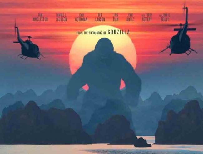 Teaser-Poster zu Kong: Skull Island