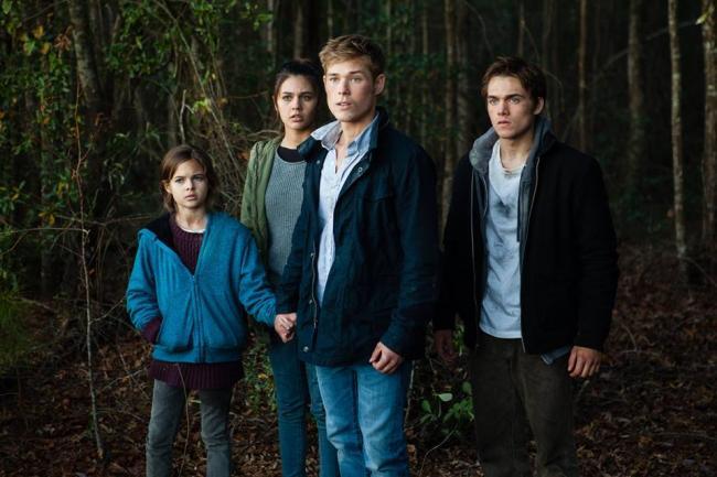 Gabby, Josh, Flynn und Claire