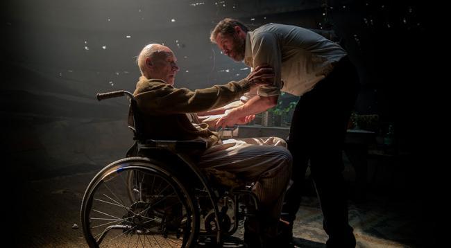 Logan und Professor X Wolverine