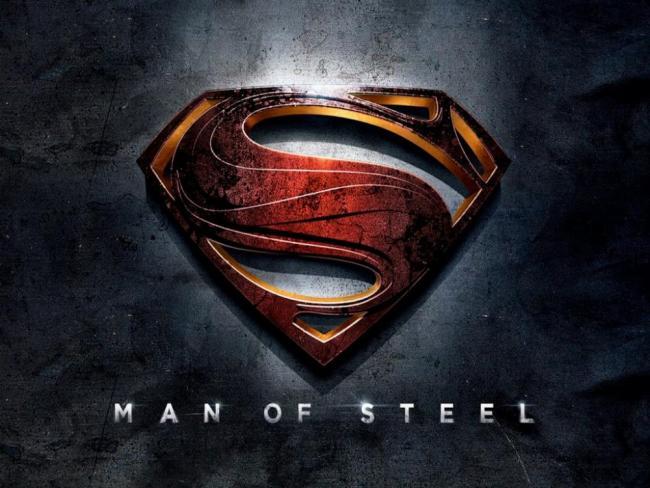 Superman-Logo von Man of Steel