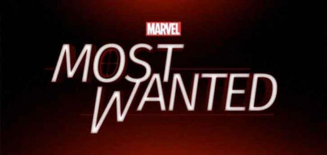 Marvel's Most Wanted Logo