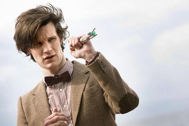 Matt Smith als elfter Doctor