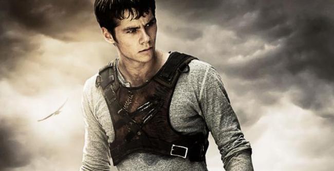 Dylan O'Brien in Maze Runner