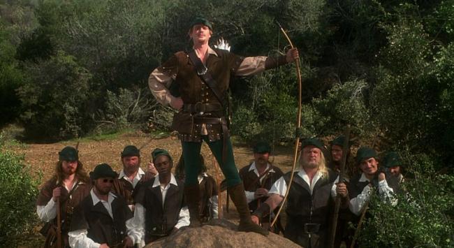 Robin Hood Männer In Strumpfhosen