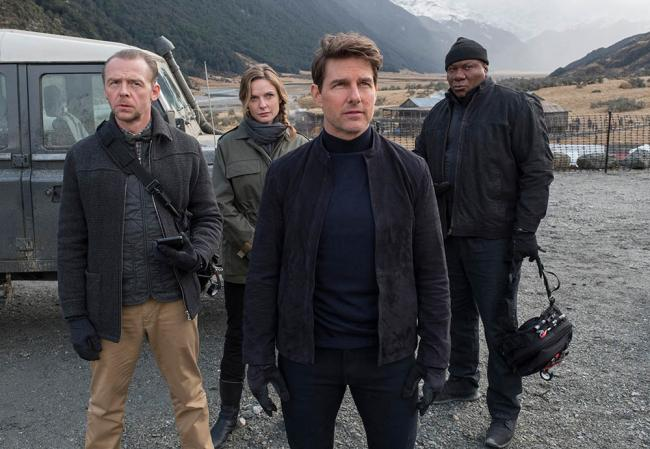 Tom Cruise und Mission Impossible Team