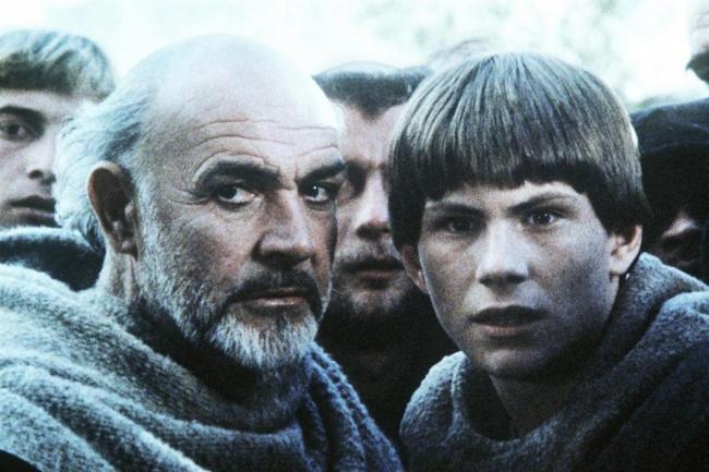 Name der Rose Szene Sean Connery Christian Slater
