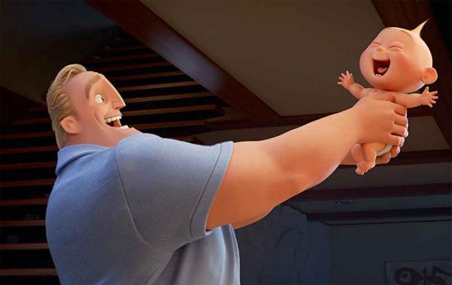 """Szenenbild aus Pixar's """"Die Unglaublichen 2"""""""