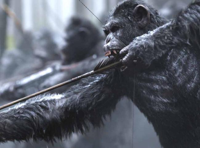 Szenenbild aus Planet der Affen: Survival