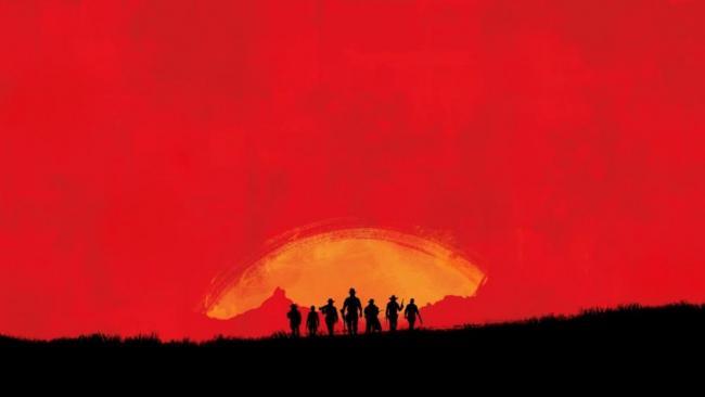 Wallpaper Western rockstar