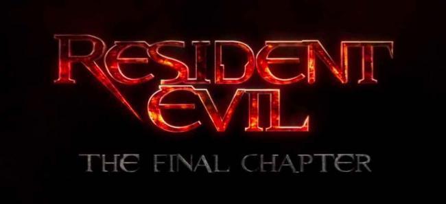 Resident Evil: The Final Chapter Logo