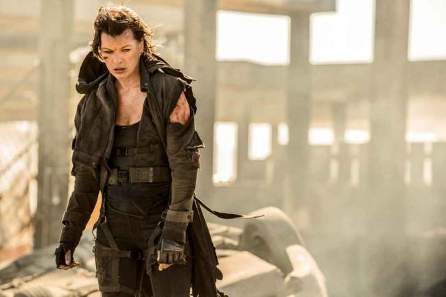 Milla Jovovich in Resident Evil - The Final Chapter